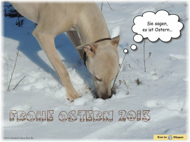 Time for Frohe Ostern 2013